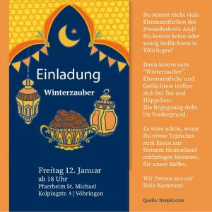 Einladung Winterzauber 2018